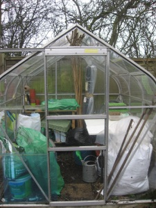 Newly restored greenhouse